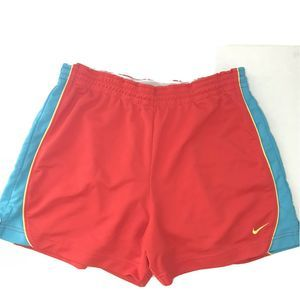 Nike Fit Swoosh Classic Shorts Large Red Retro